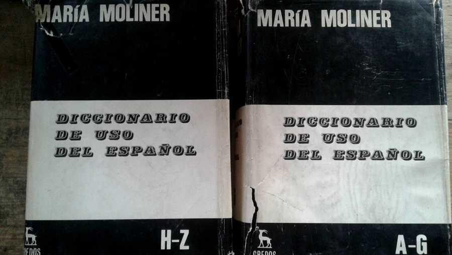 El 'Diccionario de uso del español' de María Moliner