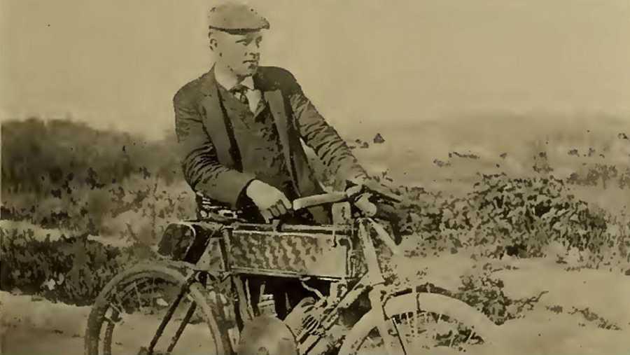 George Wyman cruzó EE.UU. de costa a costa en 1903