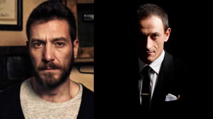 Raúl Tejón y Francisco Boira