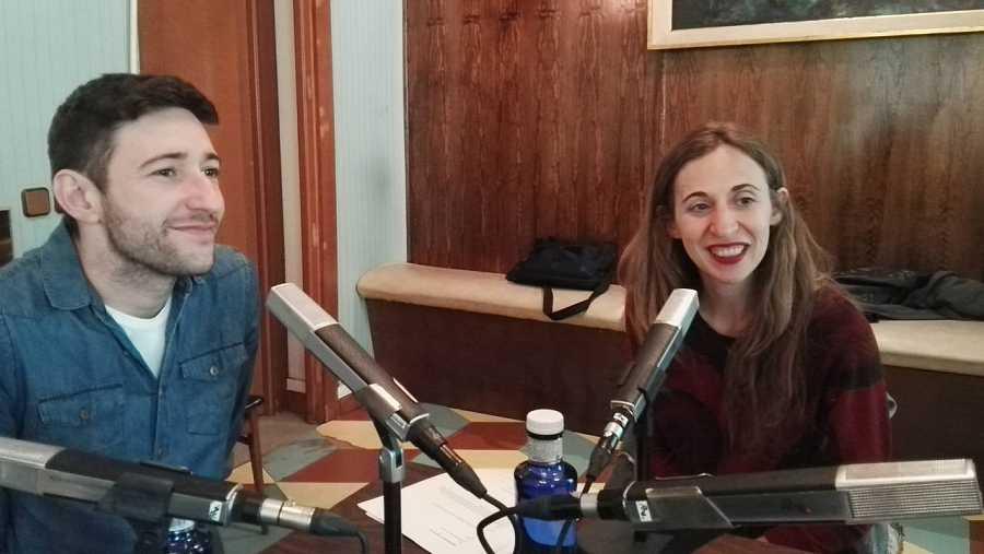 Marta Aledo y Abel Zamora