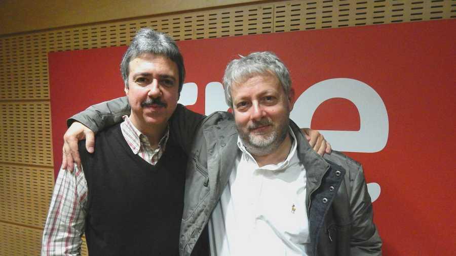 Jesús Trujillo y Fabio Biondi