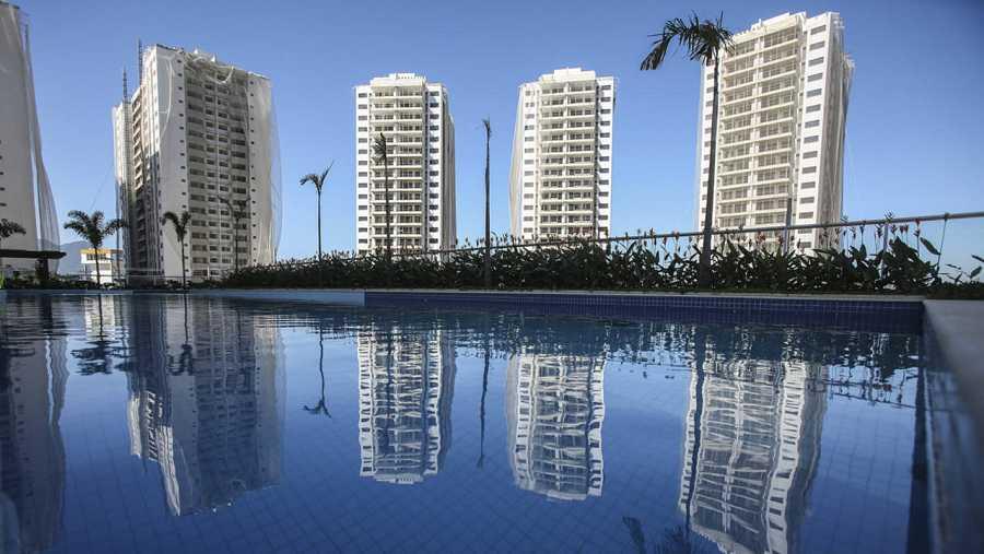 Una imagen de la Villa Olímpica para los Juegos Olímpicos Río 2016