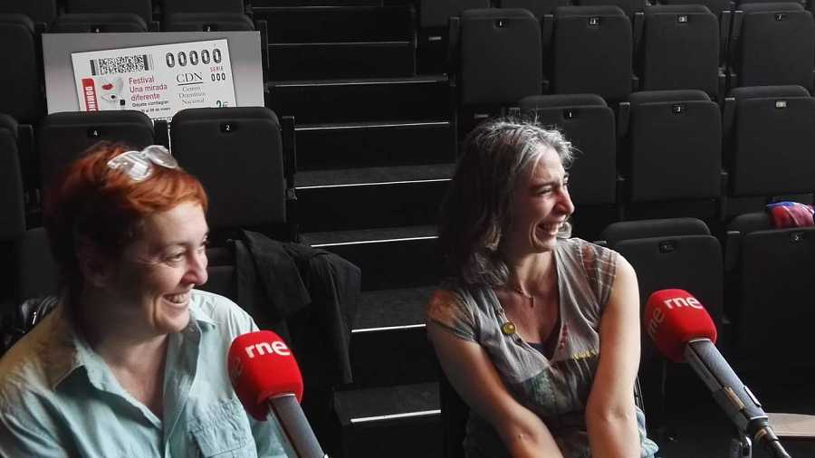 Laila Ripoll y Magda Labarga