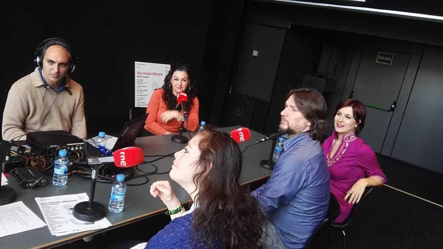 Laura Rubio Galletero, Óscar Miranda, Leticia Hernández Álvarez y Pilar Massa