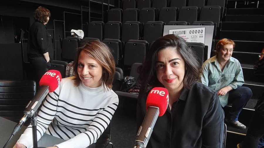 Sandra Fernández e Inés Enciso