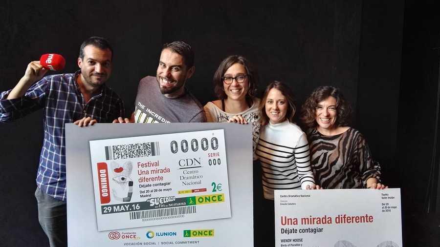 José Padilla, Lucía Miranda, Inés Enciso,  Paloma Zuriaga y Daniel Galindo