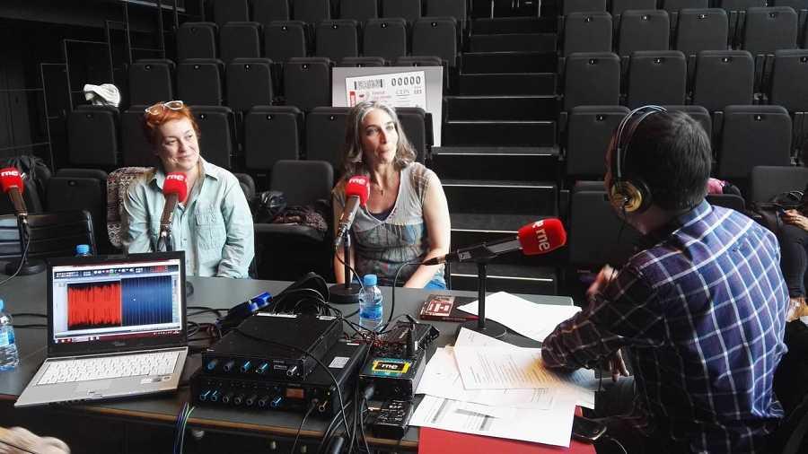 Laila Ripoll, Magda Labarga y Daniel Galindo