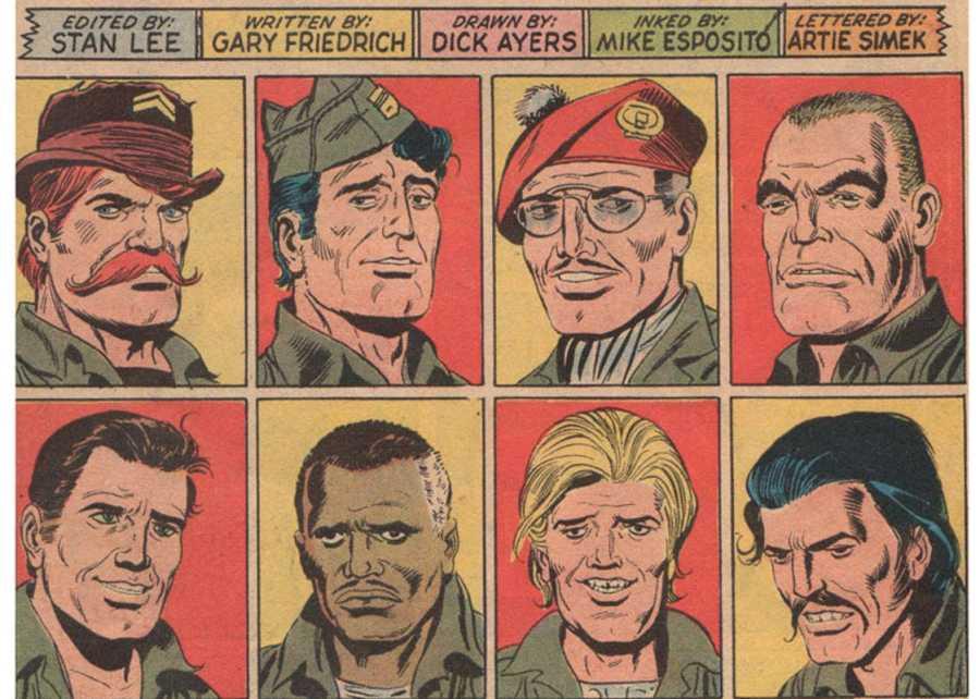 Algunos miembros de los 'Comandos aulladores'