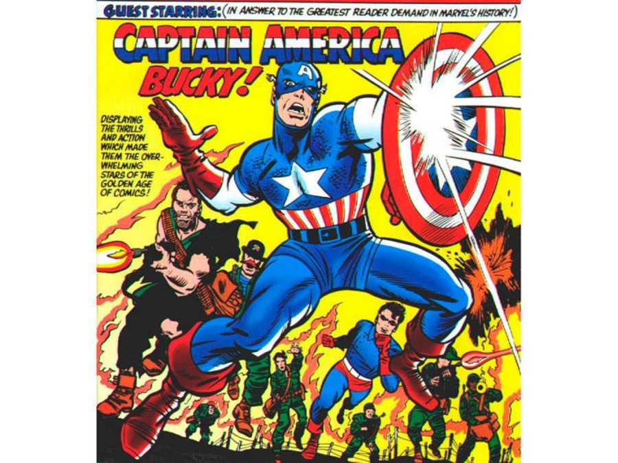 Fragmento de la portada del Nº 13 de 'El Sargento Furia y sus comandos aulladores'