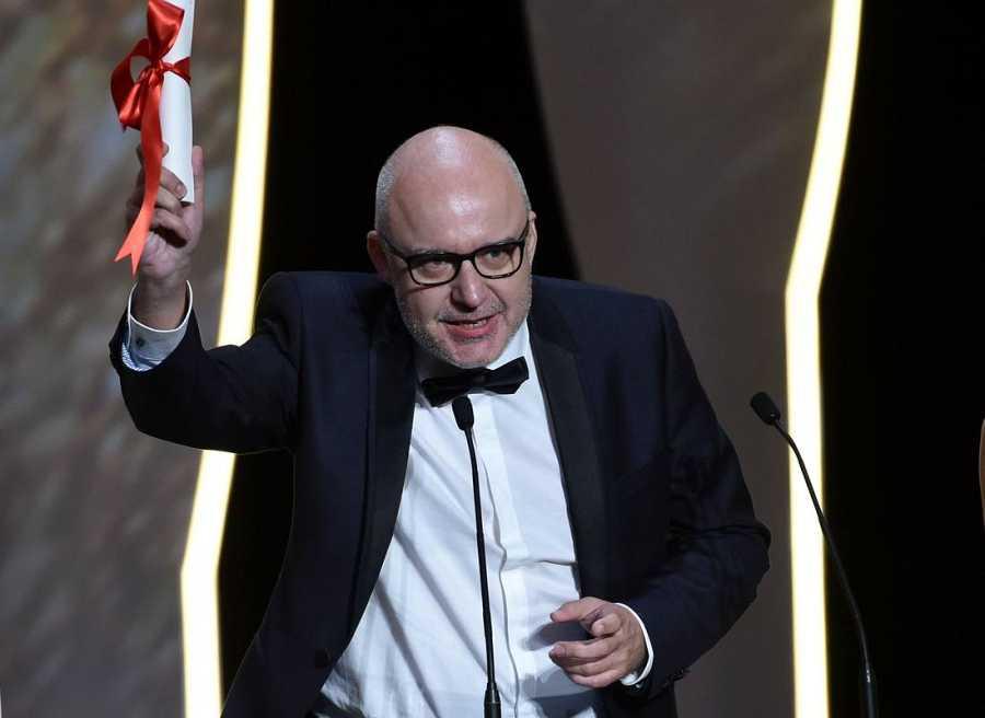 El director español Juango Gimenez, Palma de Oro por su corto 'Timecode'