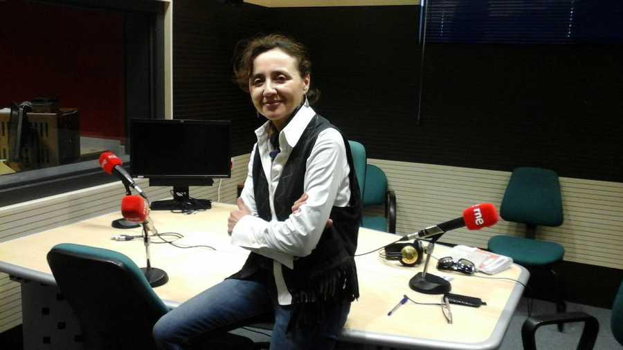La periodista y escritora Sasi Alami