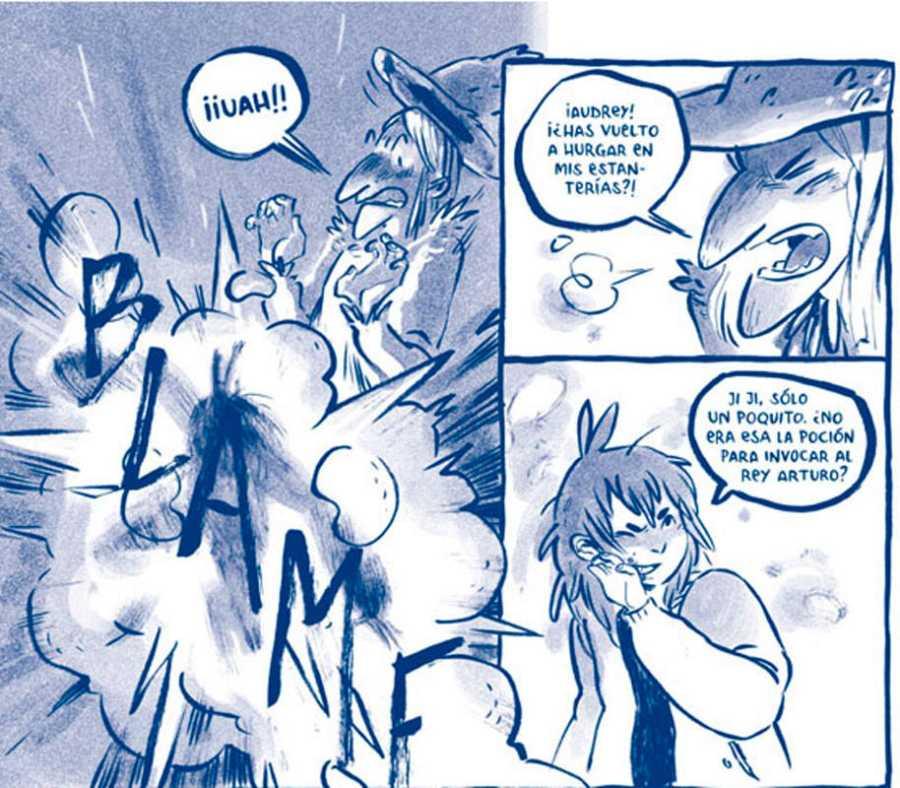 Viñetas de 'Duerme pueblo'