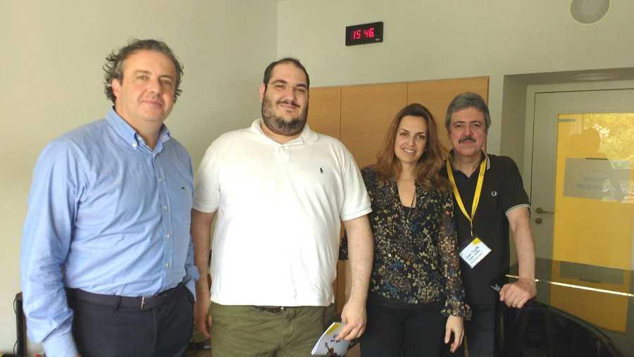 Juanjo Mena, Joaquín Riquelme, Raquel Lojendio y Jesús Trujillo