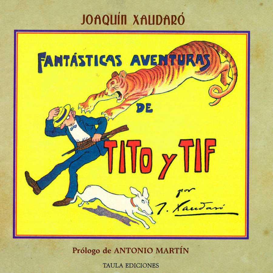 Portada de 'Fantásticas aventuras de Tito y Tif'