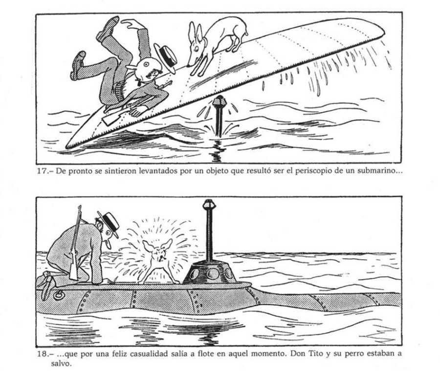 Página de 'Fantásticas aventuras de Tito y Tif'