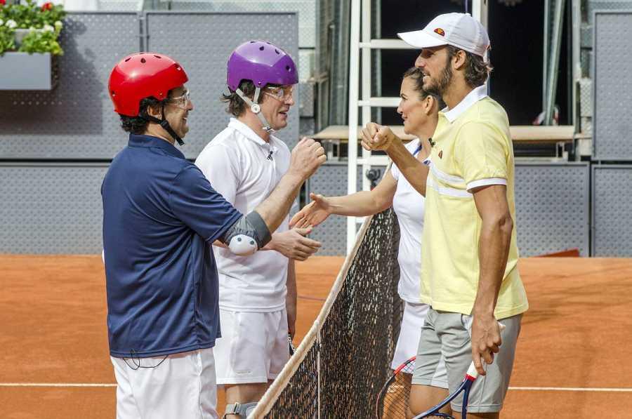 Homenaje al tenis español en MasterChef