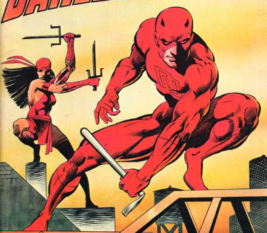 Daredevil y Elektra