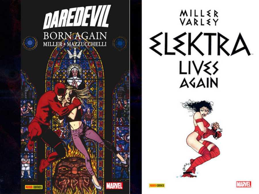 Portada de 'Born Again' y 'Elektra lives again'