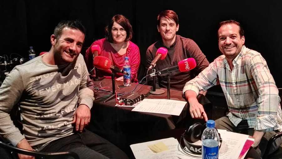 José Carretero, Vicente Camacho, Ana Ferrandis y Daniel Galindo