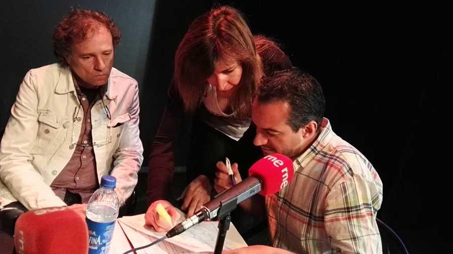 Con Joe O'Curneen y Rosa Arroyo