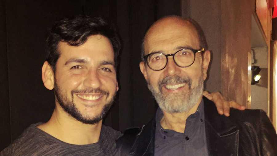 Fran Perea y Miguel Rellán