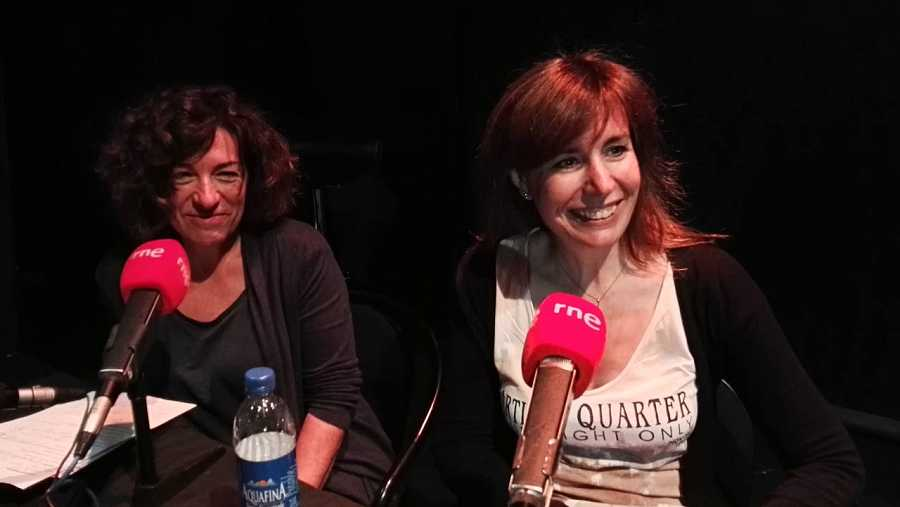 Rosa Arroyo y Paloma Zuriaga