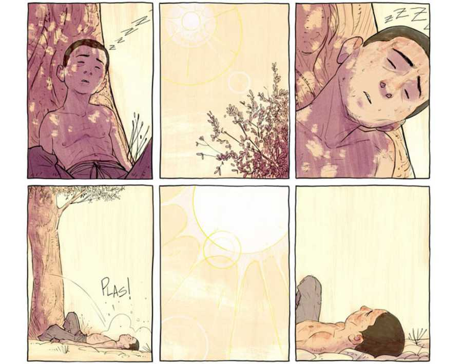 Viñetas de 'Intemperie'