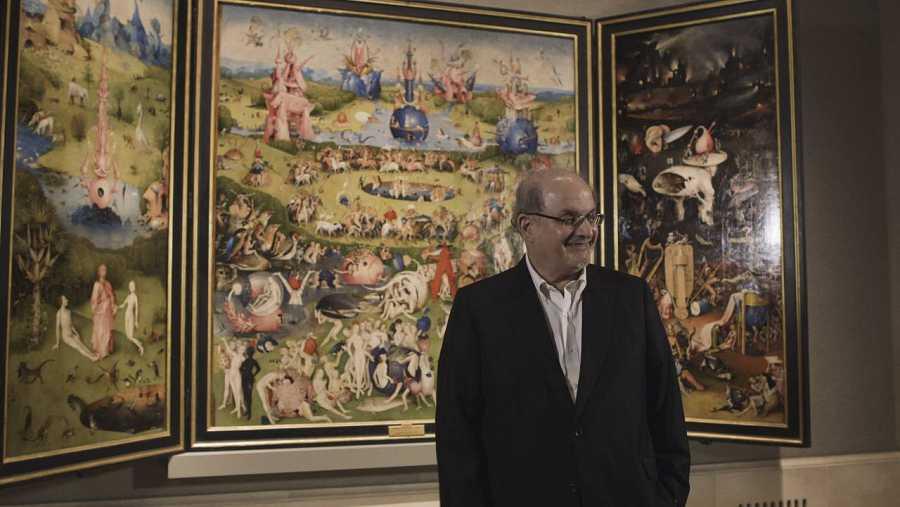 Salman Rushdie ante 'El jardín de las delicias', obra maestra de El Bosco