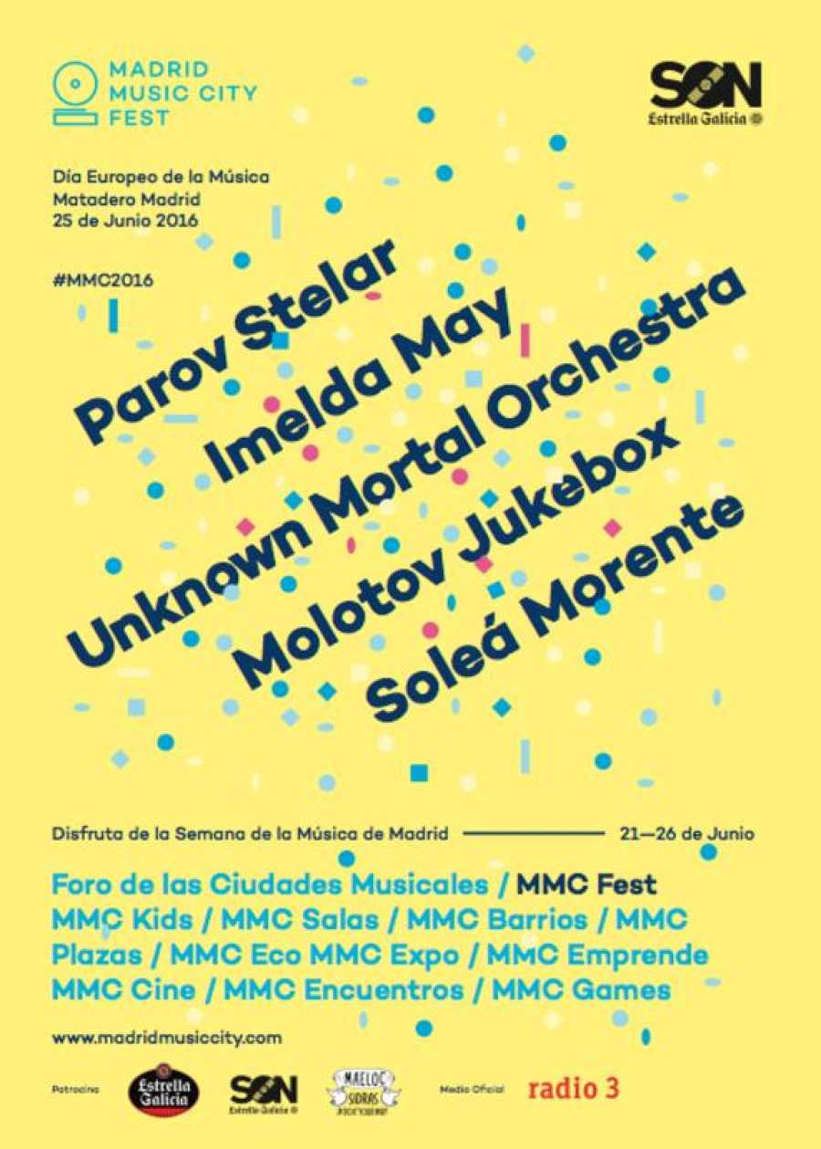 El epicentro de la celebración del MMC tendrá lugar el sábado 25 en Matadero