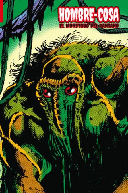 Portada de 'Hombre-Cosa. el monstruo del pantano'