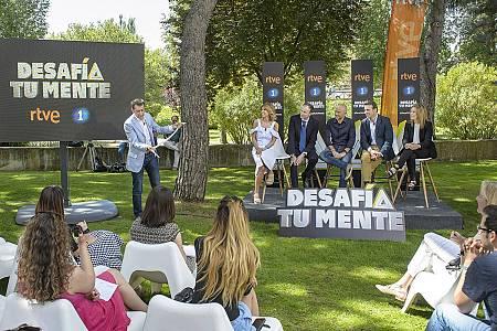 Presentación de 'Desafía tu mente' en Prado del Rey