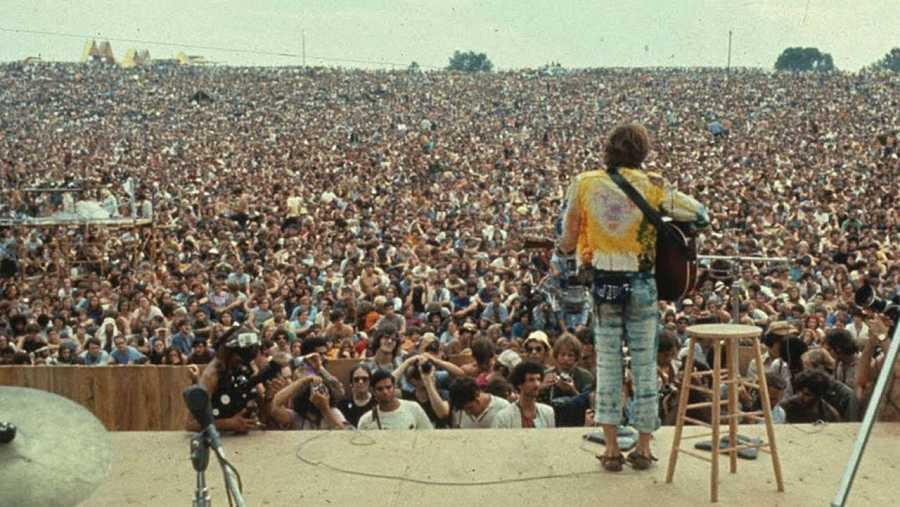 Woodstock se celebró por primera vez en 1969