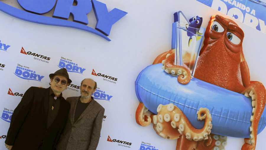 Javier Gurruchaga y José Luis Gil son el maestro Raya y Marlin, en 'Buscando a Dory'