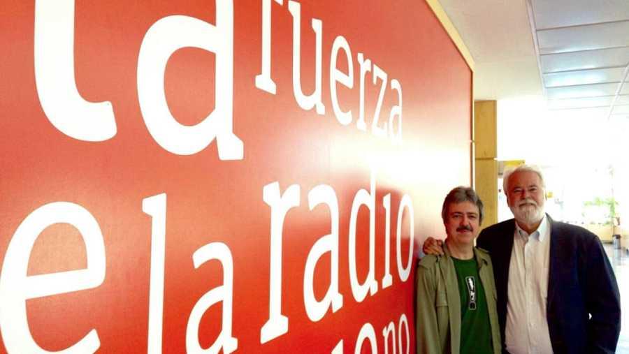 Antonio Moral, director de CNDM, con Jesús Trujillo
