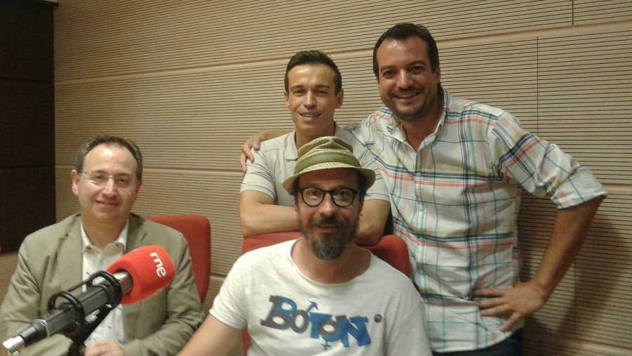 Jesús Cimarro, Fele Martínez y Nico García