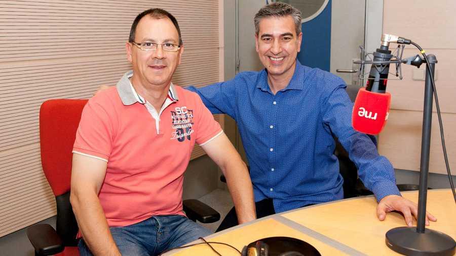 Juan Andrés Gallego, con Arturo Martín en Rne Madrid