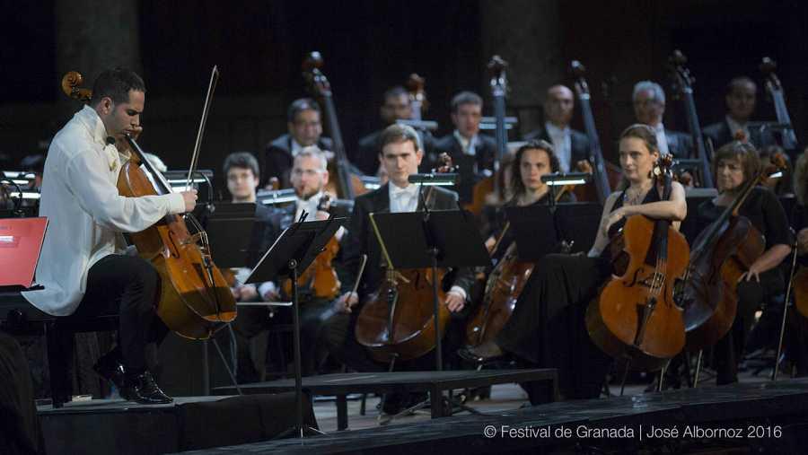 Guillermo Pastrana en el concierto del 19 de junio del Festival Internacional de Música y Danza de Granada