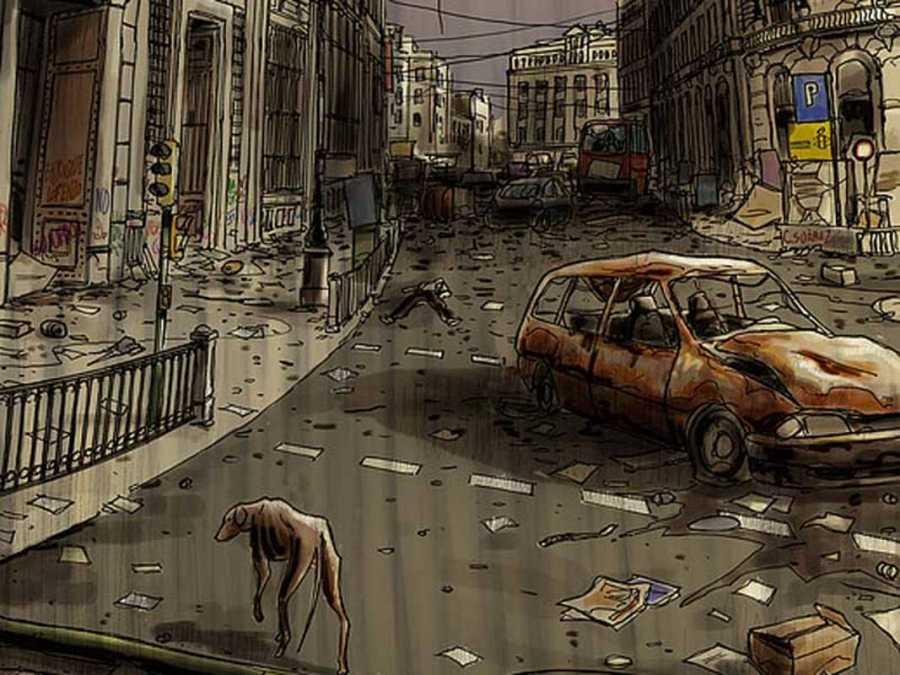Viñeta de 'Hoy es un buen día para morir'