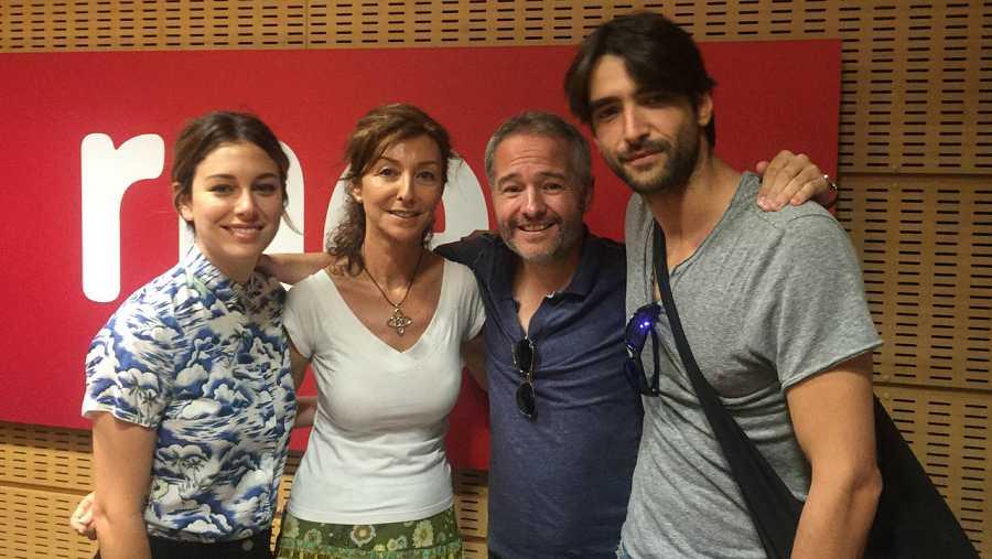 Gustavo Ron, Blanca Suárez y Aitor Luna nos hablan de