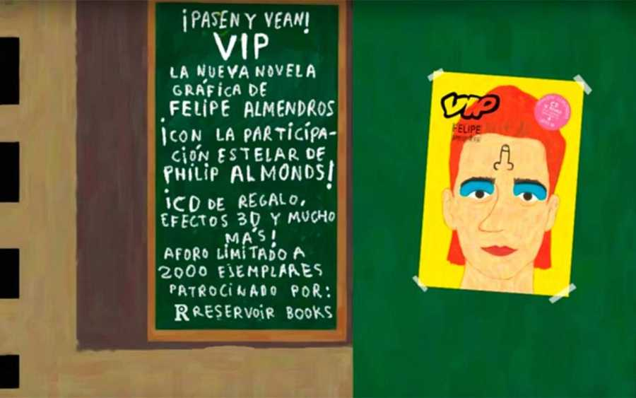 'Vip', de Felipe Almendros
