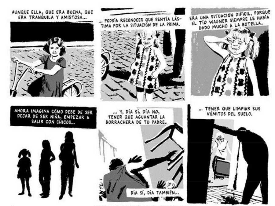 Viñetas de 'Talco de vidrio'