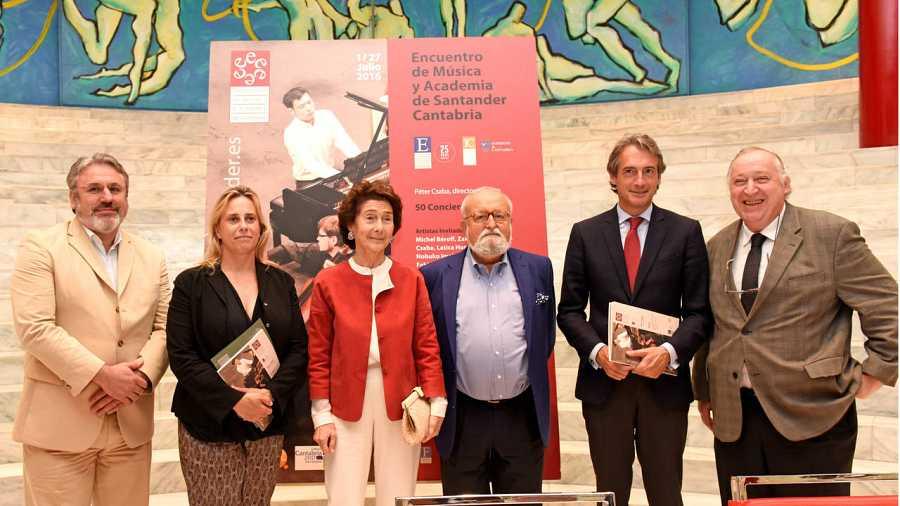 Presentación del concierto inaugural de la XVI edición del Encuentro de Música y Academia en Santander