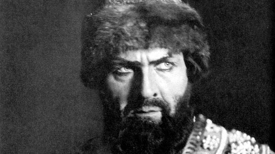 Fiador Ivanovich Chaliapin como Boris Godunov