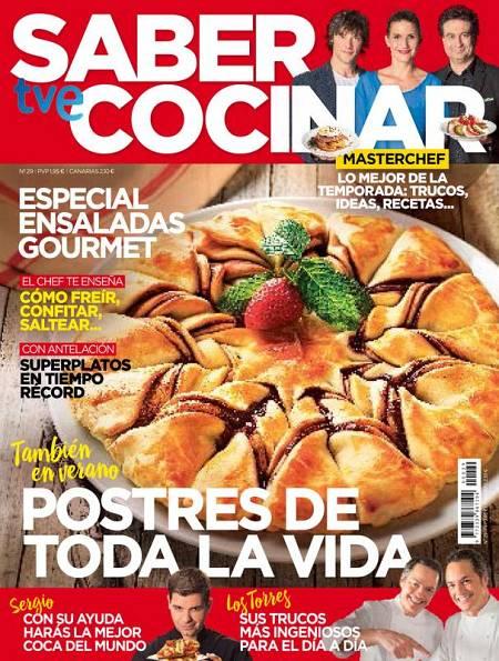 Portada de la revista Saber Cocinar