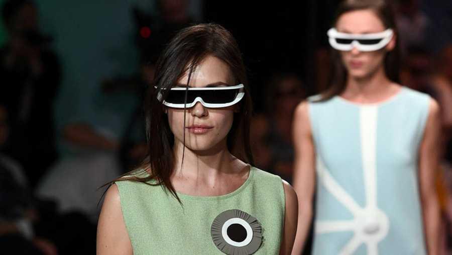 c67204cf1 El estilo futurista es una constante en la obra de Cardin. AFP noticias