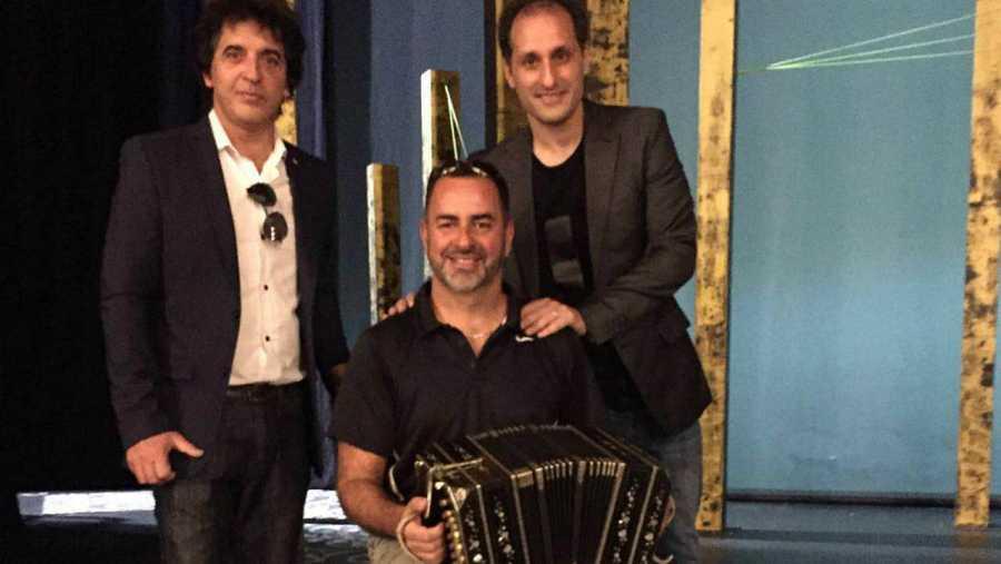 Quinteto Real durante su entrevista en 'Las mañanas de RNE'