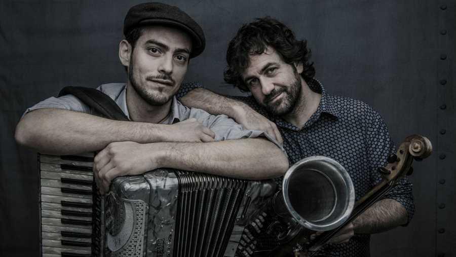 Jorge Arribas y Diego Galaz forman este dúo instrumental