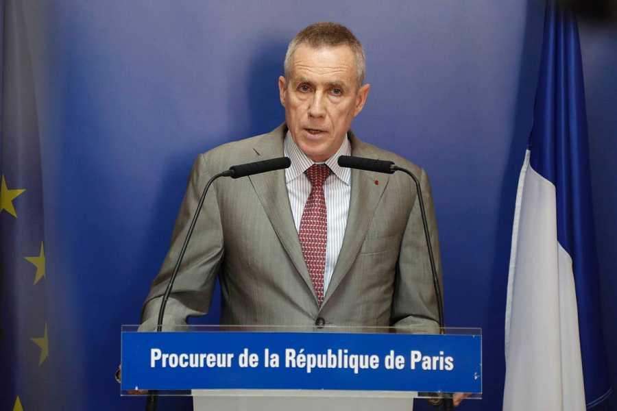 El fiscal de París, François Molins, durante su comparecencia sobre el atentado de Niza