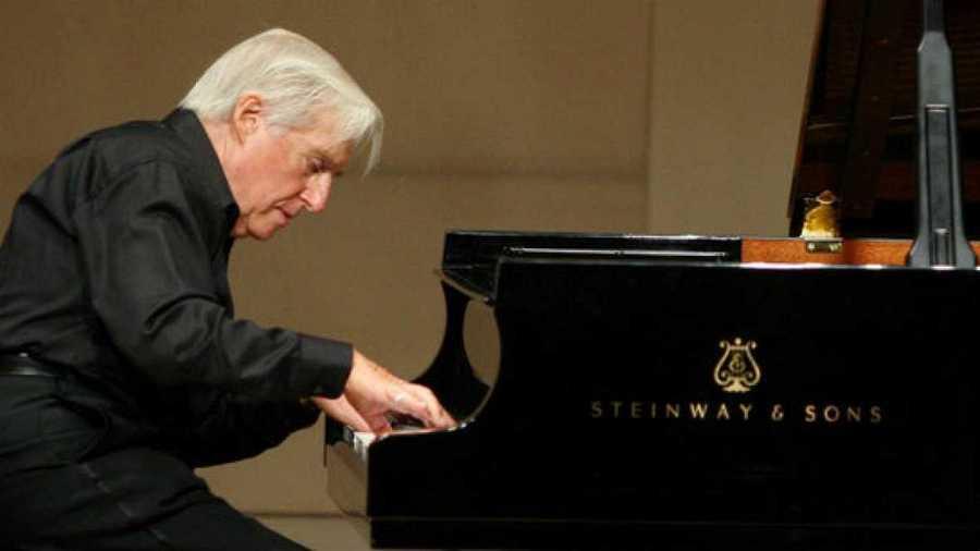 El pianista Joaquín Achúcarro