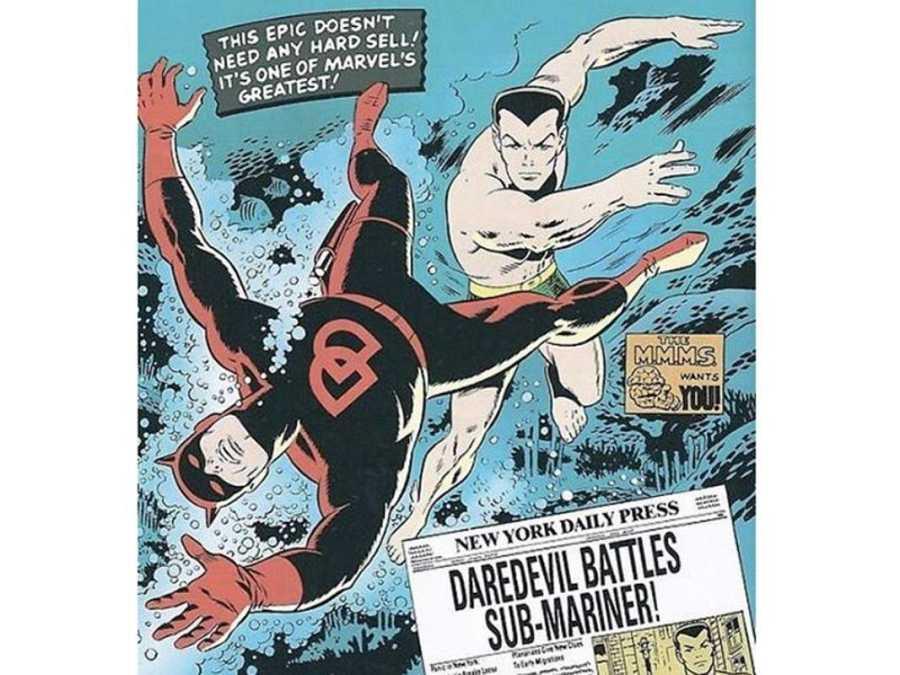 Namor y Daredevil en la colección del Hombre Sin Miedo